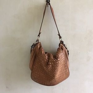 Cole Haan brown leather purse